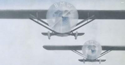 History of the BMW Logo Originate plane magazine cover