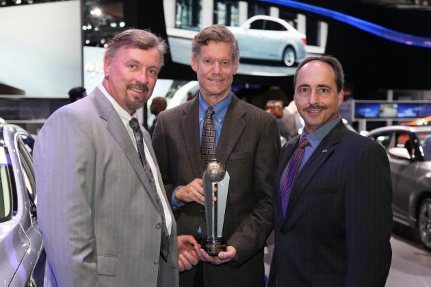 Hyundai Showcases Awards at LA Auto Show