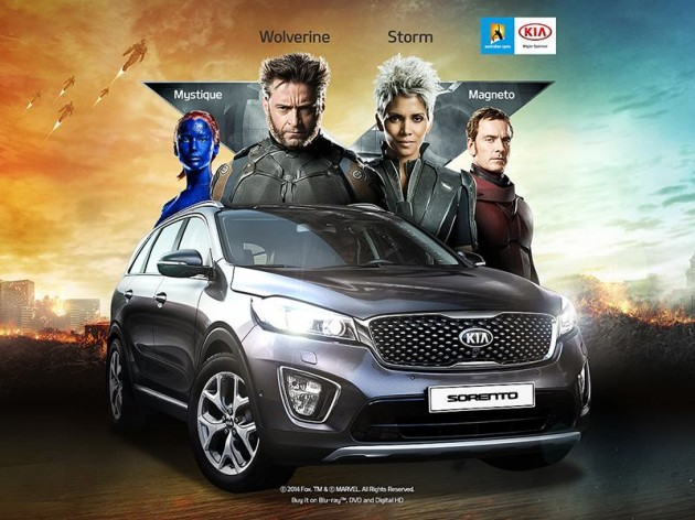 X-Men Kia Sorento with Wolverine Claws Is One Mutant Minivan