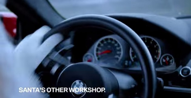No Christmas Spirit In Bmw S Santa S Other Workshop Ad The News