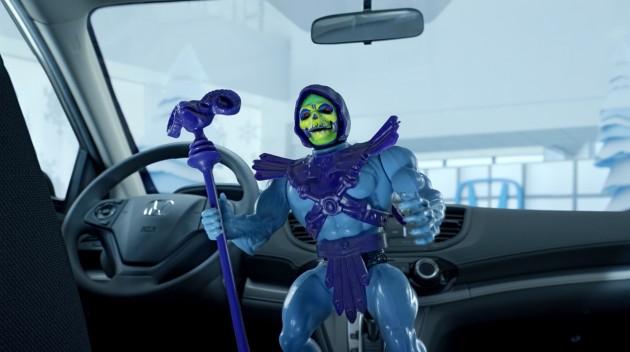 Classic Toys Shill For Civics in Nostalgic Honda car Commercials