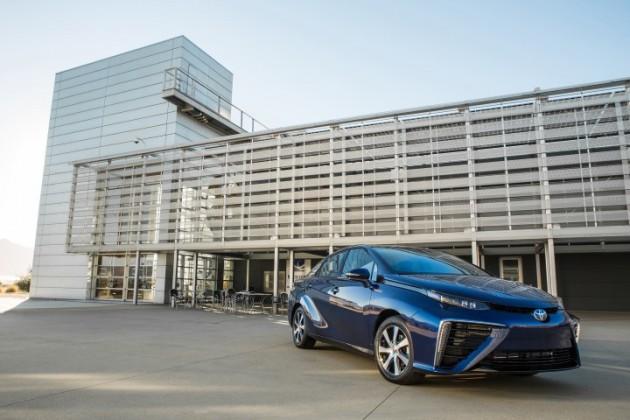 Toyota Mirai powered by lemonade