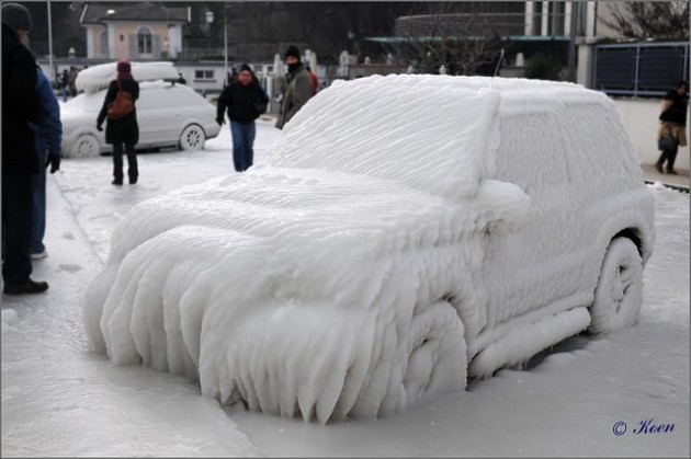 Winterizing Your Car snow