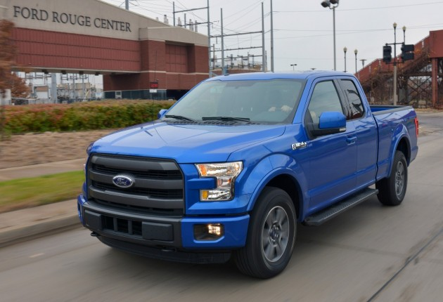 2015 Ford F-150 in Blue Flame
