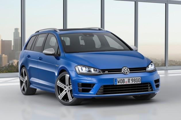 Volkswagen Golf R Variant Wagon Debuting at Los Angeles Auto Show