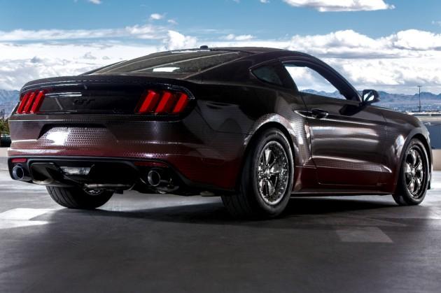 Mustang King Cobra at SEMA