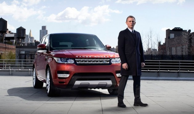 Location shooting for Spectre may be delayed by the theft of nine James Bond Range Rovers