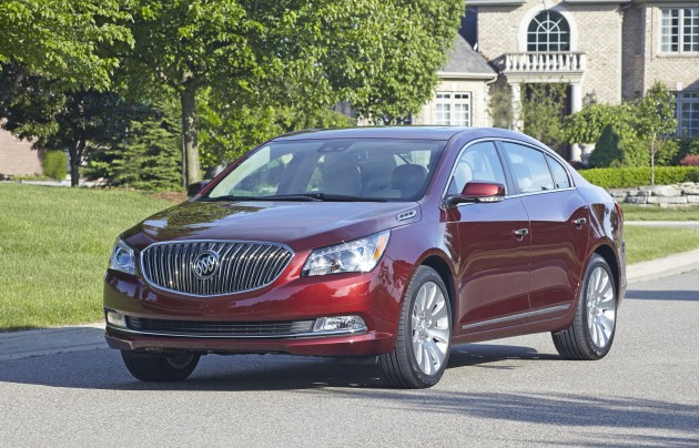 The 2015 Buick LaCrosse led Buick's November 2014 sales