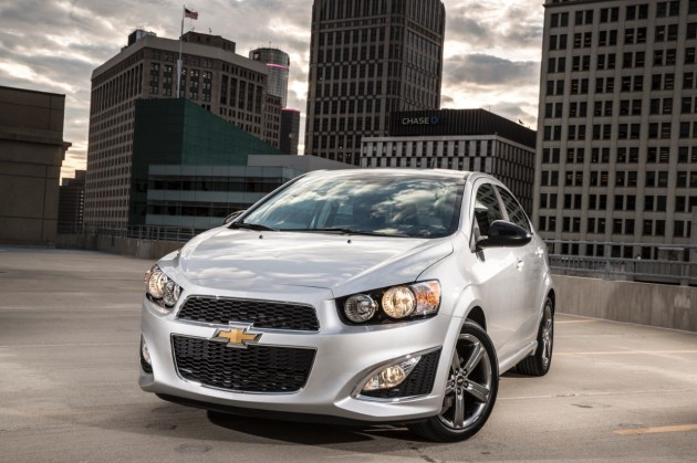 2015 Chevy Sonic Overview