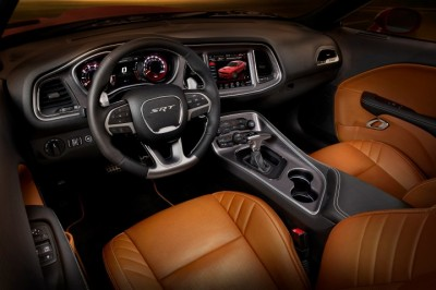 2015 Dodge Challenger SRT Hellcat chicago Auto Show