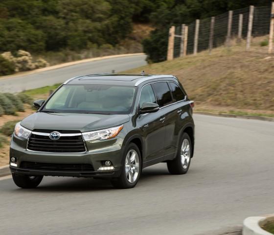 Hybrid Toyota Highlander: 2015 Toyota Highlander Hybrid Overview