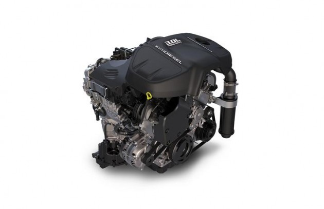 3.0-liter EcoDiesel V6