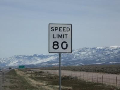 80 MPH Speed Limit