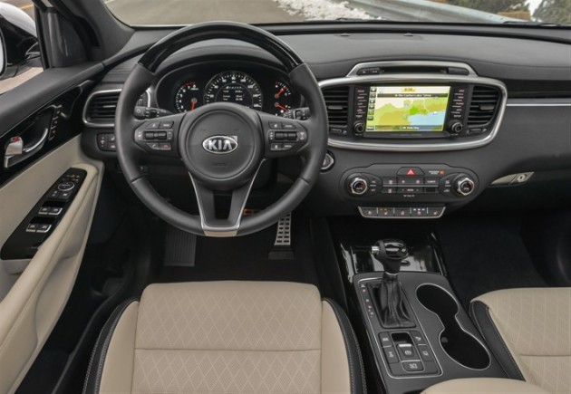 There are several new or newly standard safety features in the 2016 Sorento
