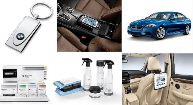 BMW Christmas Gifts Merchandise Collage