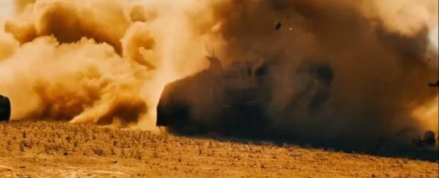 Car Crashes in the new Mad Max 1