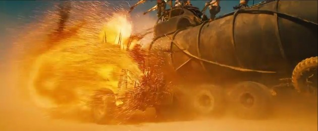Car Crashes in the new Mad Max 4