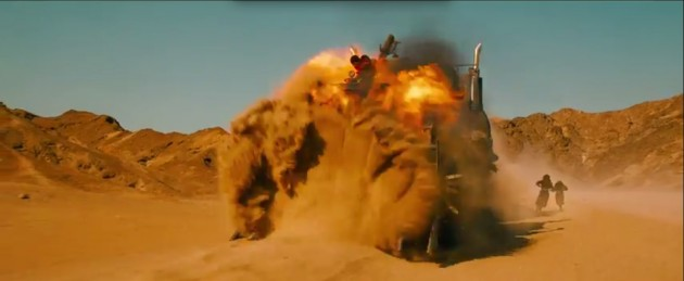 Car Crashes in the new Mad Max 5