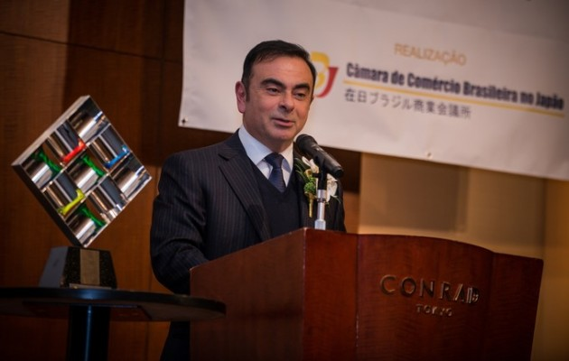 Nissan President and CEO Carlos Ghosn Person of the Year 2014