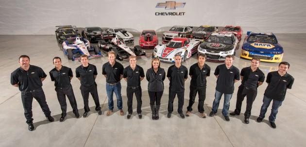 Chevrolet Racing won 11 championships