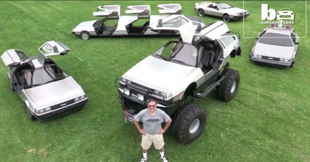 DeLorean Monster Truck and Limo Customize 3