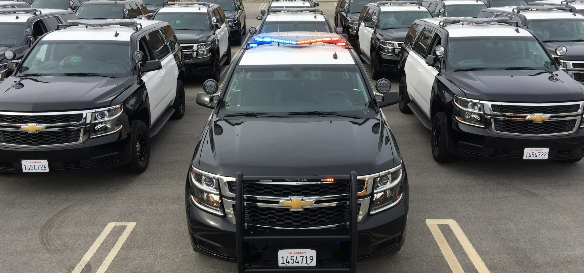 First Chevy Tahoe Ppvs Go To County Of Ventura The News