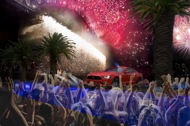 Mustang in Australia