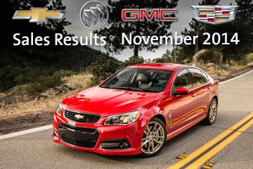 GM's November Sales