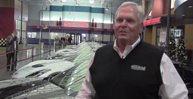 Rick Hendrick Takes Delivery of First 2015 Corvette Z06