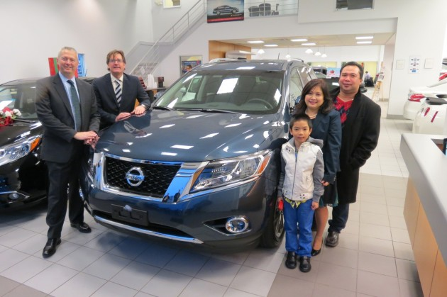 Nissan Brand Nets 100,000 Sales in Canada