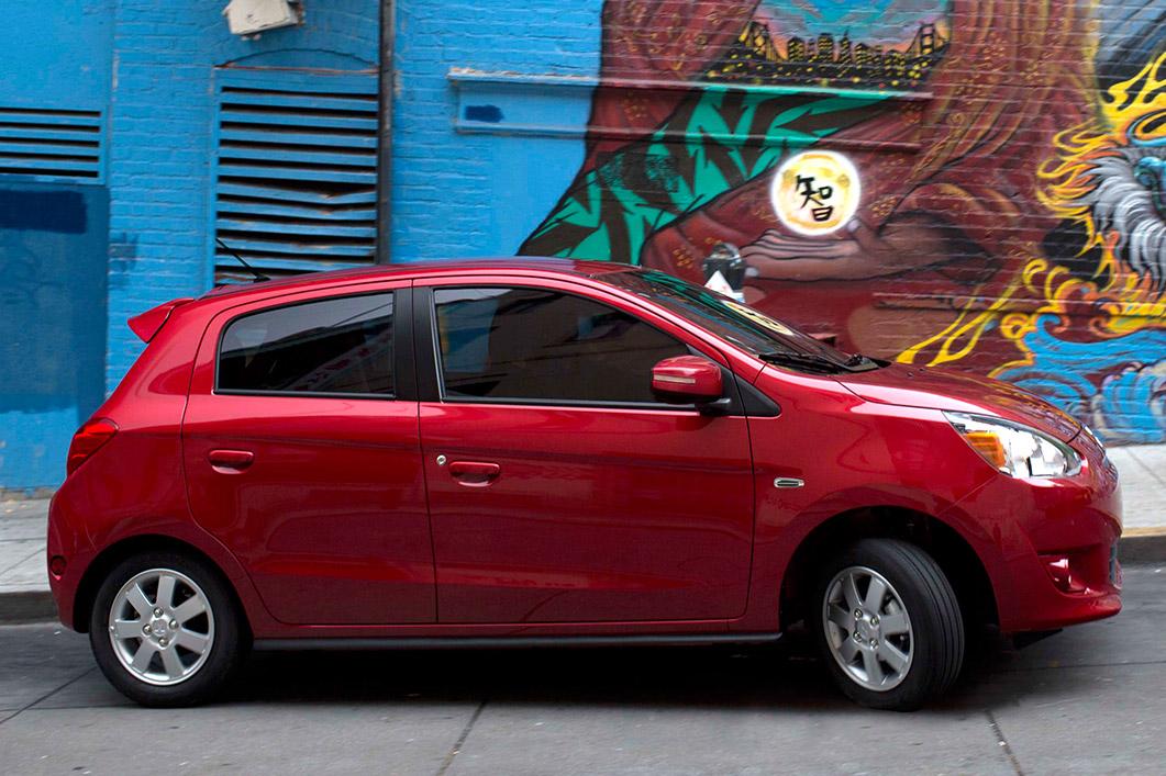 mitsubishi mirage named australia's best micro car - the news wheel