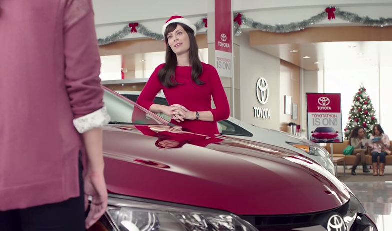 Christmas Toyota Jan Commercial Jan Is A Badass The