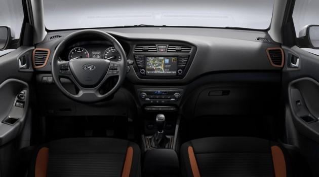 New Hyundai i20 Coupe interior