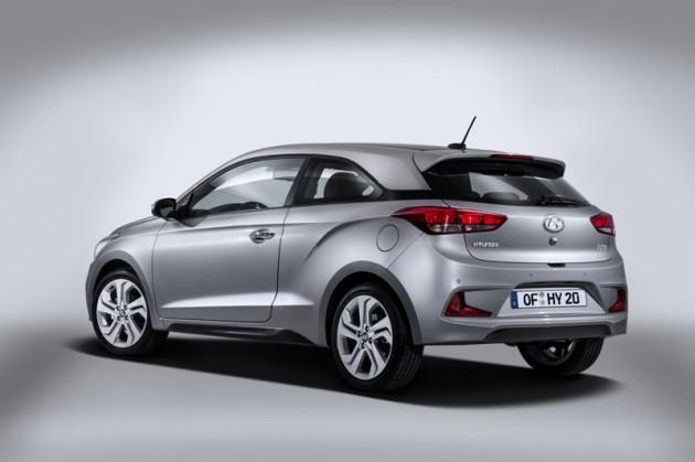 New Hyundai i20 Coupe rear
