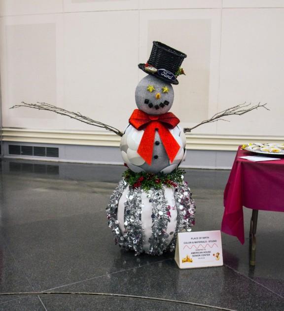 Ford Design Teams Build Snowmen