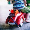 Rideable Toy Car for Children with Disabilities boy red