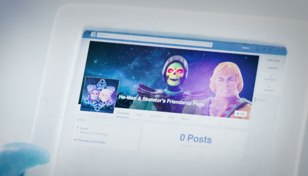 If it's Facebook official, you know it's true: Skeletor and He-Man are friends now, according to the new Honda Toy Tunes