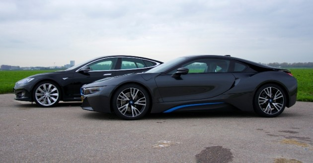 Tesla BMW i8 BMWs The Thing
