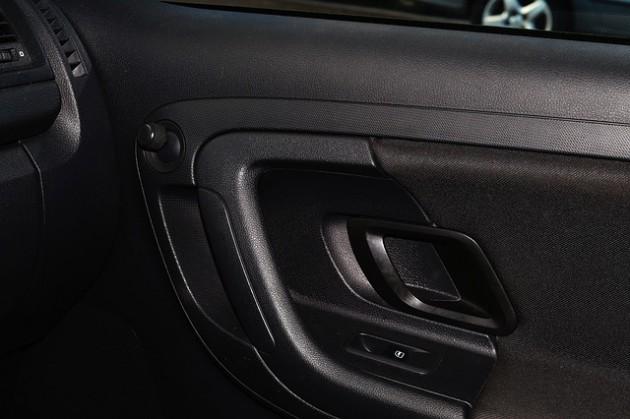 car-door-black handle lock