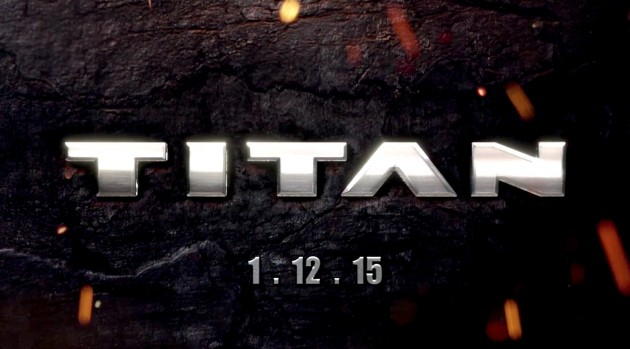 teaser video for the 2016 Nissan Titan