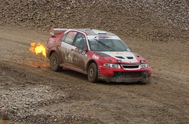 Lancer Evolution VI Rally Car