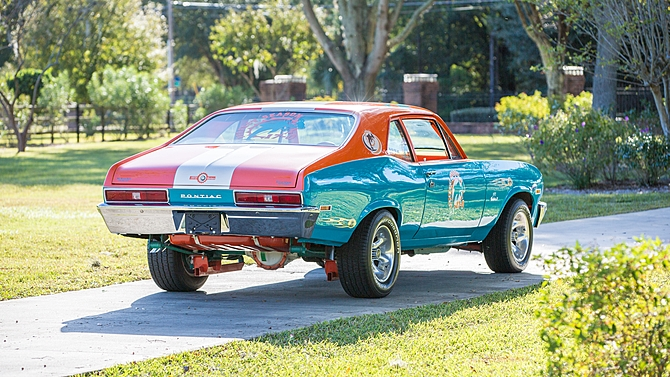Car Auctions Ny >> Pontiac Ventura Honoring Dolphins' Perfect Season for ...