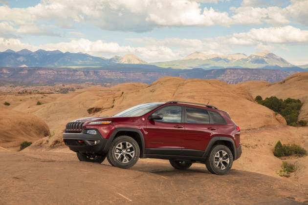 2015 Jeep Cherokee Trailhawk Four Wheeler of the Year