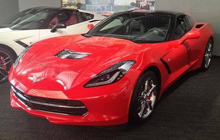 National Corvette Museum Raffling Off 2015 Stingray for $10