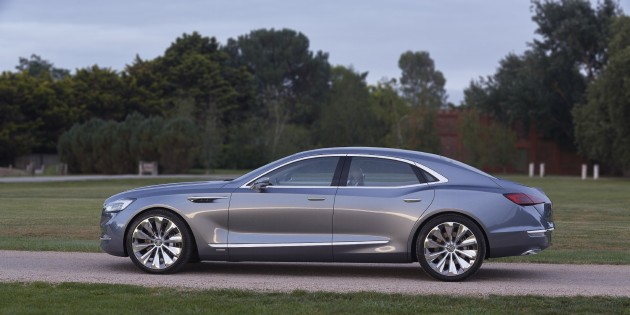 American and Australian Teams Collaborated to Build Buick Avenir Concept