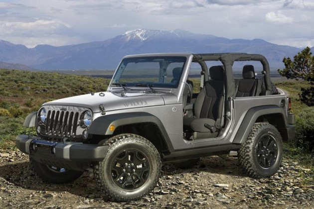 2015 jeep wrangler Fiat Chrysler's January 2015 Sales