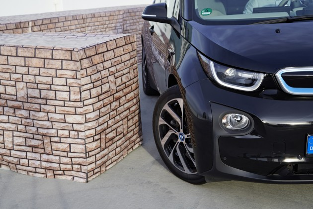 BMW's Latest Technology at CES 360 degree laser sensor bumper