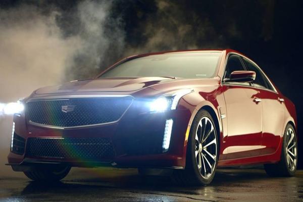 2016 Cadillac CTS-V teaser video