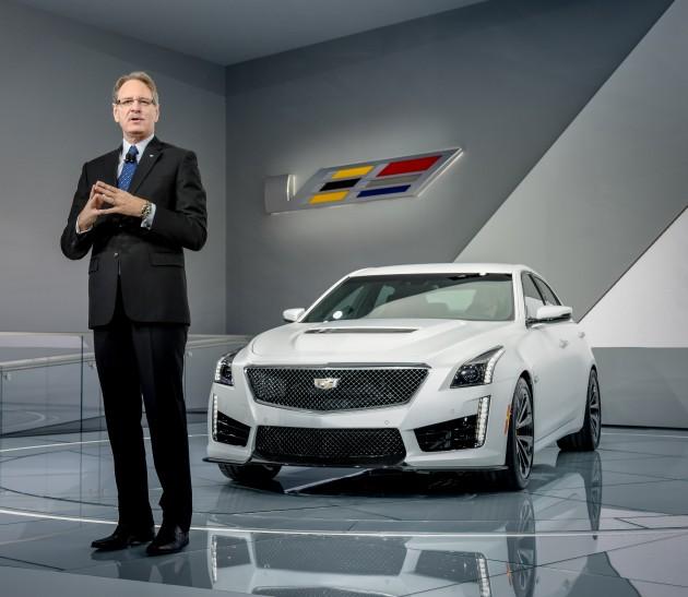 Johan de Nysschen reveals the 2016 Cadillac CTS-V