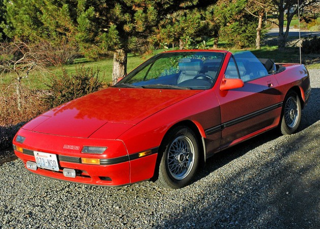 Damaged Mazda RX-7 Leads to Poetic Craigslist Tribute 1988 converticle flickr